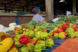 commerçante hmong de cacao photo réalisée par charlotte fallon