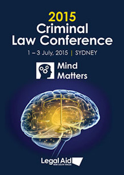 criminal law conference poster a3