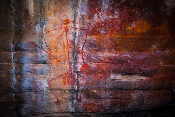 Kakadu rock paintings