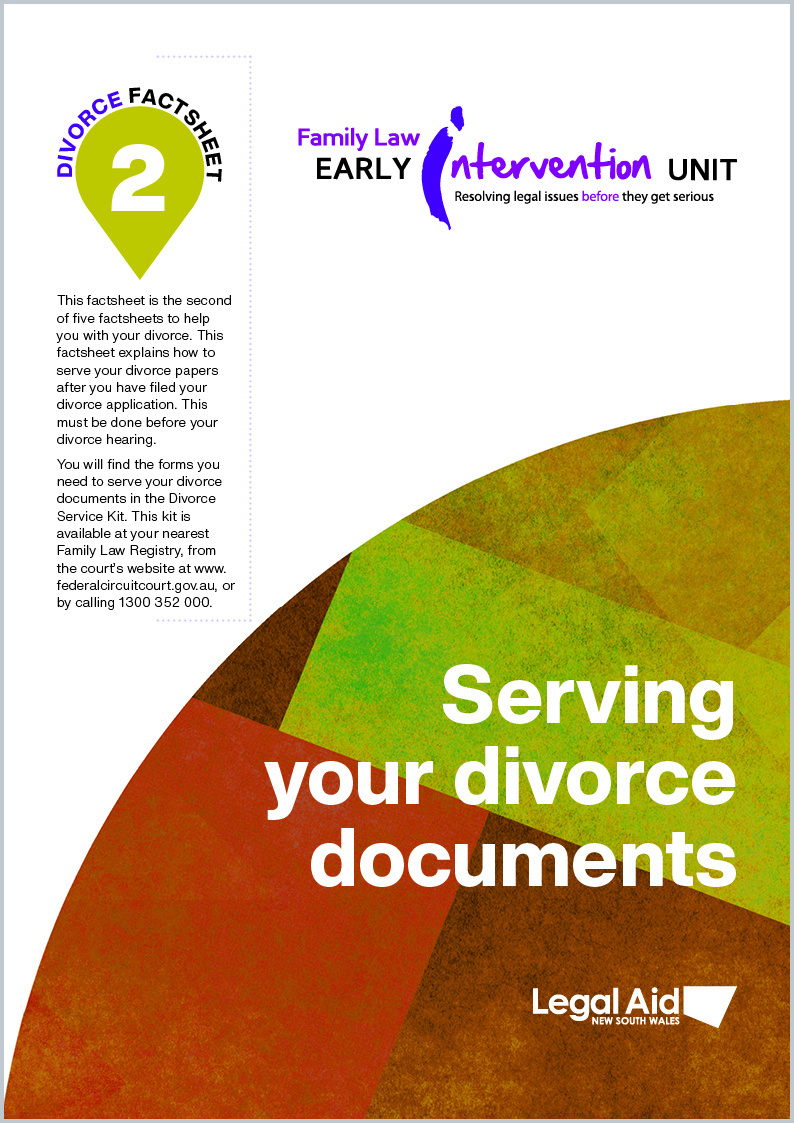 Divorce fact sheet 2