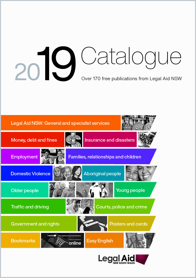 2019 Publications catalogue