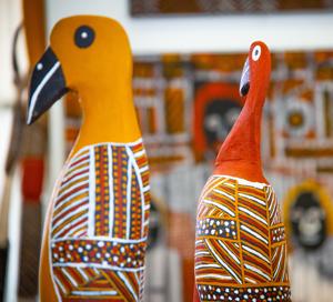 Contemporary Aboriginal art on Tiwi Islands