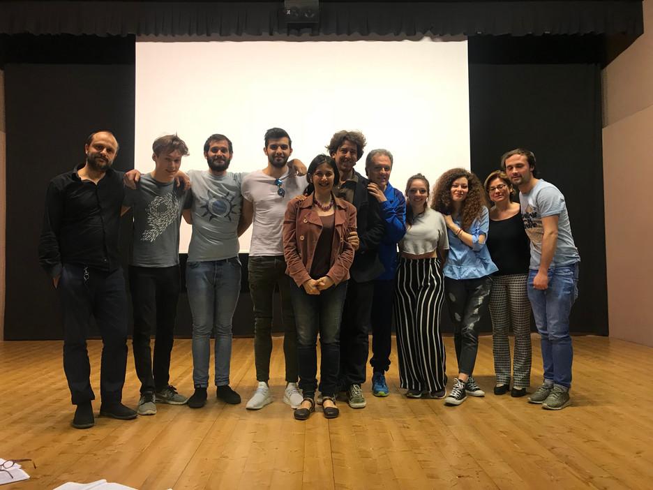 workshop con Giorgina Cantalini