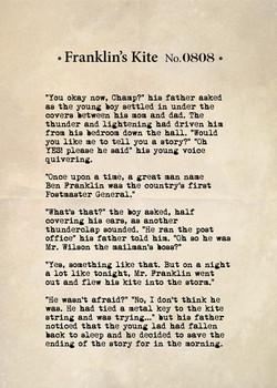 Franklin's Kite No. 0808
