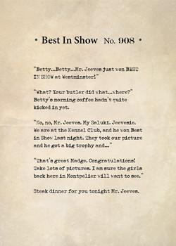 Best In Show No. 809