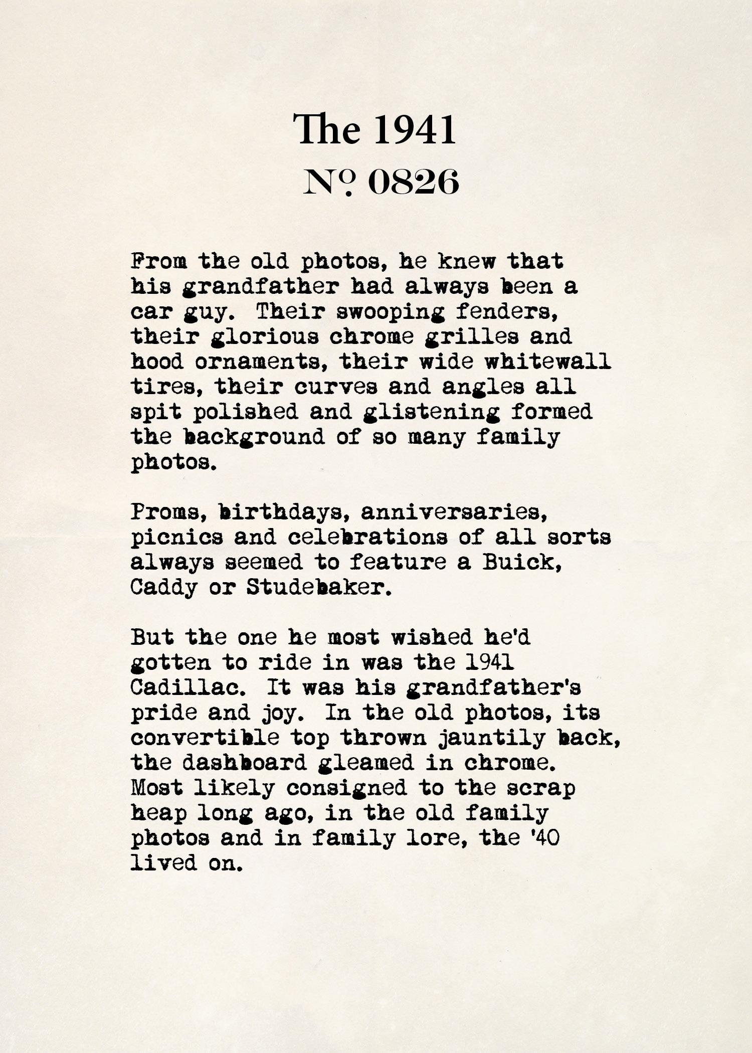 The 1941 no. 0826