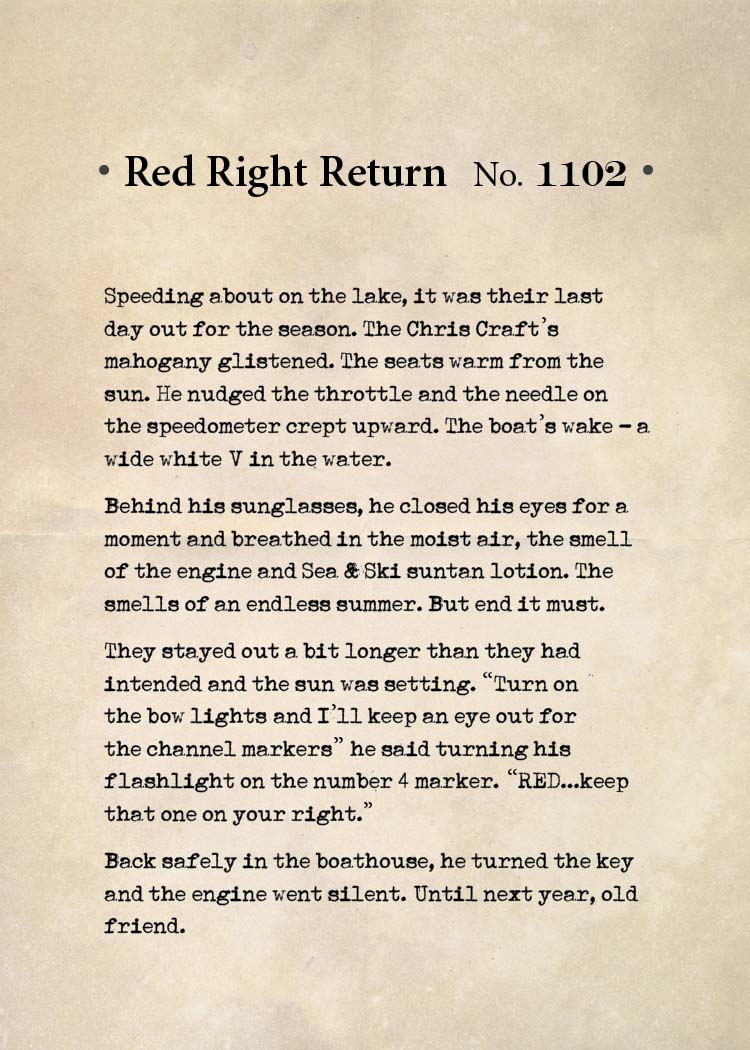 Red Right Return No. 1102