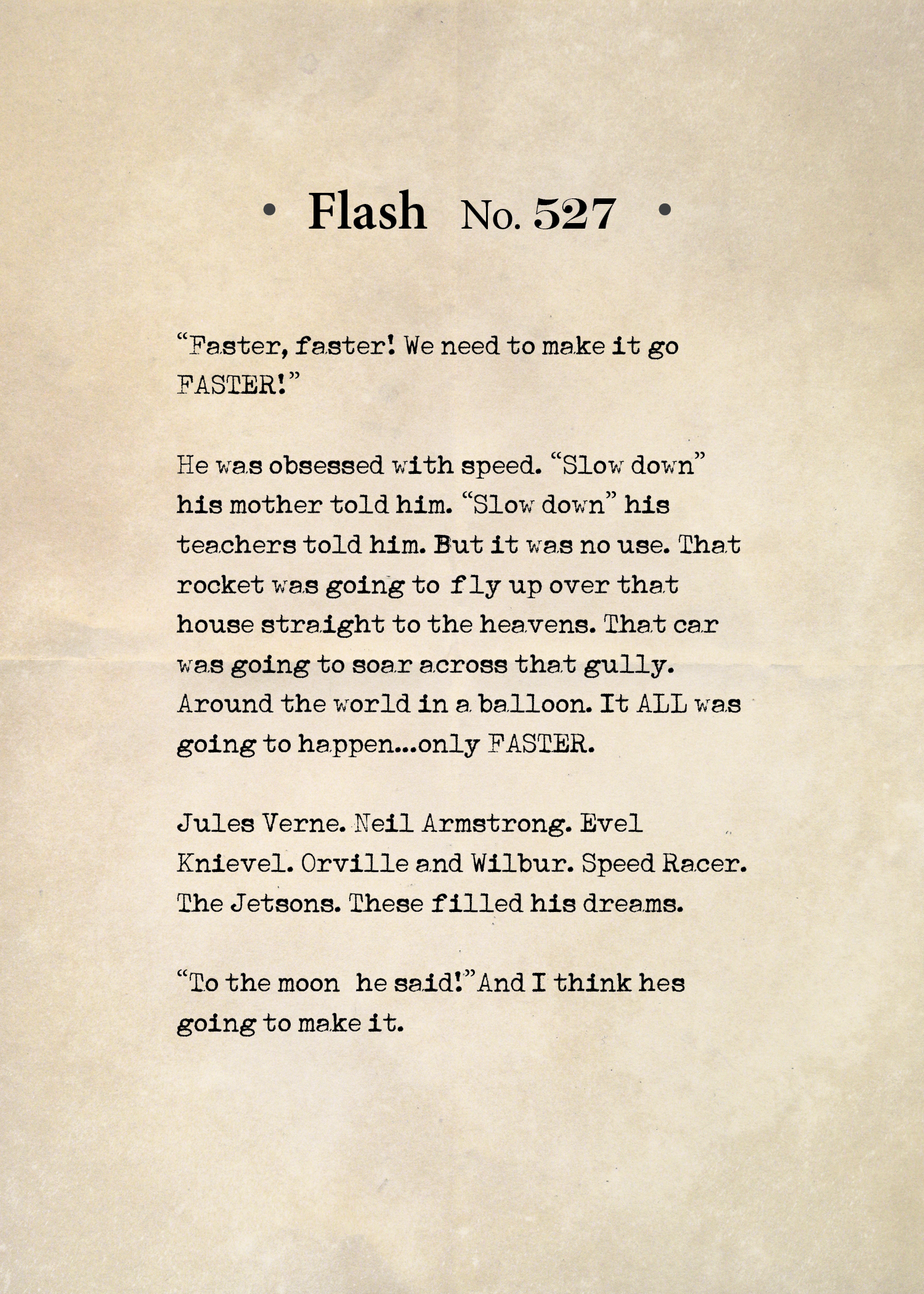 Flash No. 527