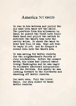 America no. 0819