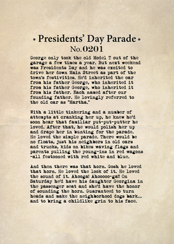 Presidents' Day Parade No. 0201