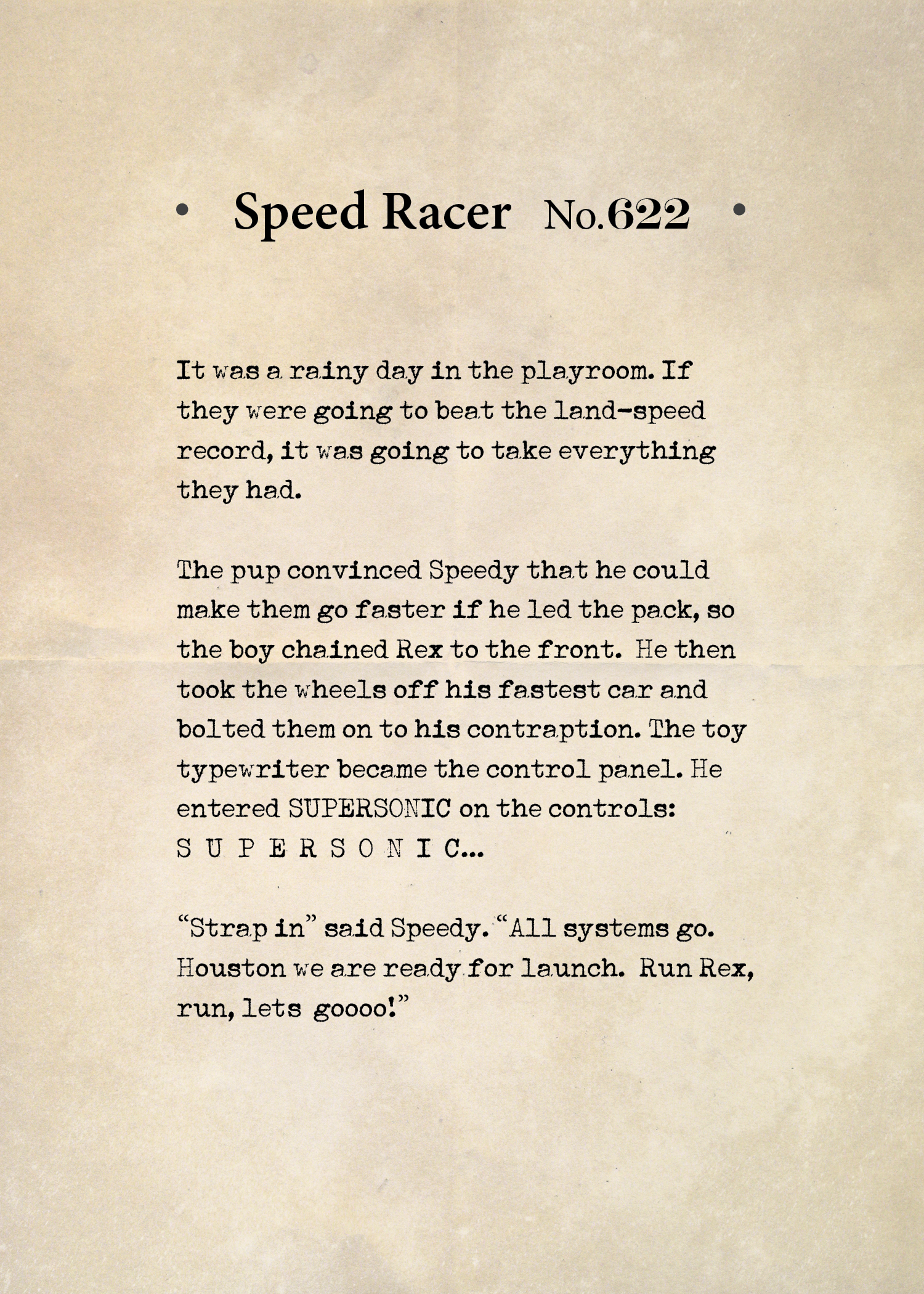 Speed Racer 622