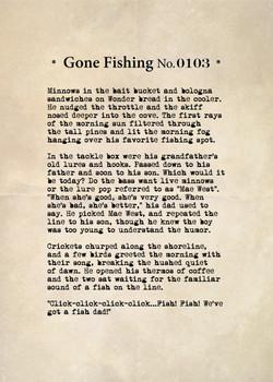 Gone Fishing No. 0103