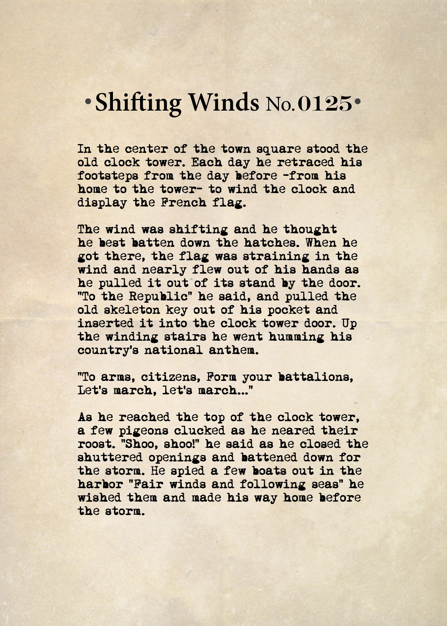 Shifting Winds No. 1125