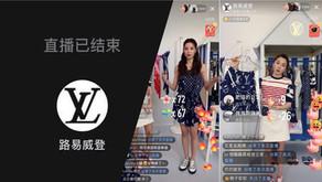 Louis Vuitton held its first livestream on Xiaohongshu