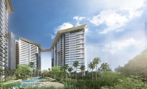 Promote the latest Amber Park project from CDL