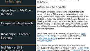 Newsletter - July 2021