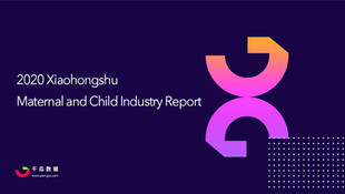 Insight Report - 2020 Xiaohongshu Mother&Child Industry Report