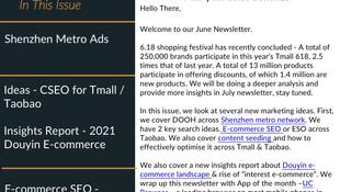 Newsletter - June 2021