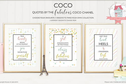 Coco  - Art Print Collection (Choose 3)