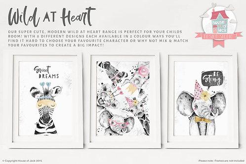 Wild At Heart Animal Art Prints Full Range