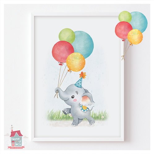 Birthday Elephant - Sparkle Market Night Special Offer