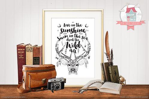 Wild Air Art Print
