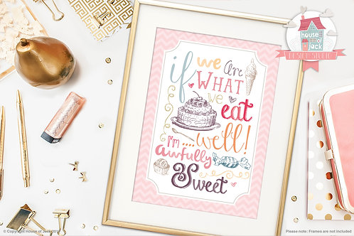 Awfully Sweet Art Print
