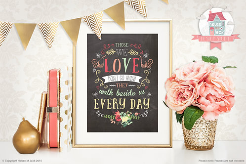 Every Day Personalised Art Print