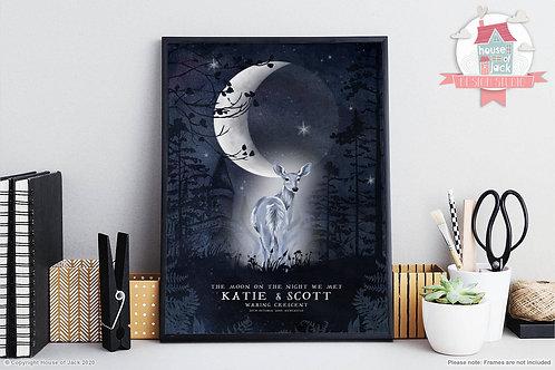 Wizard Moon Art Print