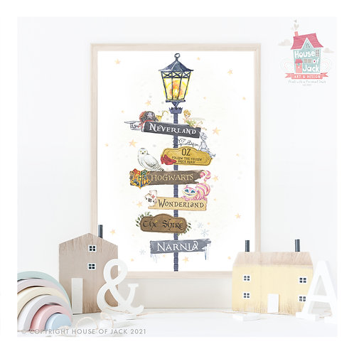 Magical Places Lamp