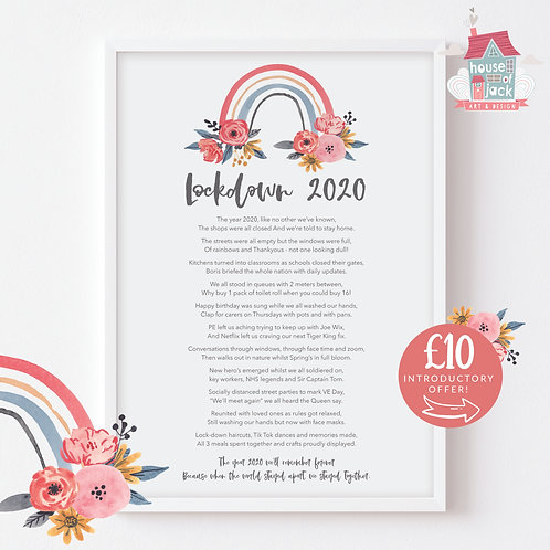 2020 Poem £10 introductory Offer