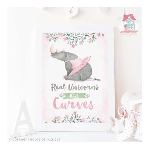 Real Unicorns - Art Print