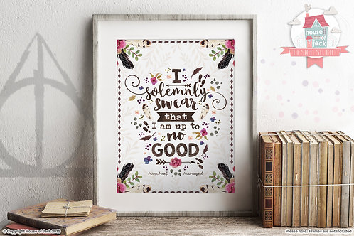 No Good - Art Print