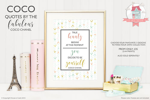 Coco - Beauty - Art Print