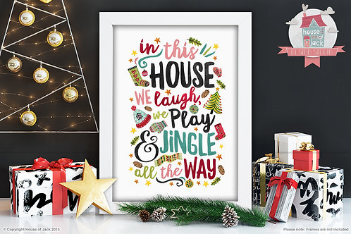 Jingle Art Print