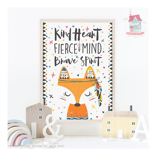 Kind Heart Art Print