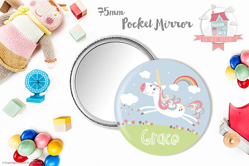 Magical Day - Personalised Pocket Mirror