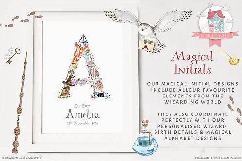 Magical initials