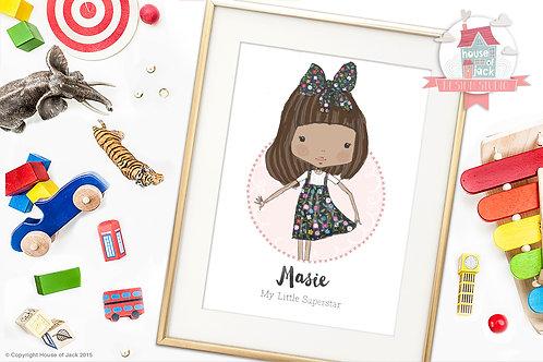 Little Darlings Personalised Child Portrait