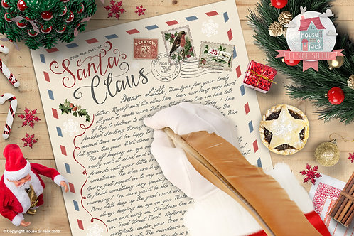 North Pole Letters - Letter From Santa