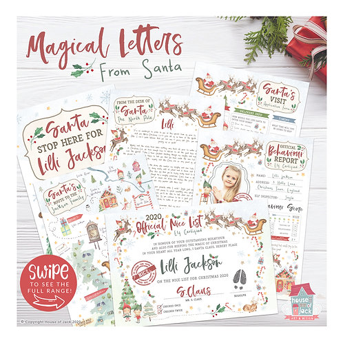 Santa's Magical Letters Pack