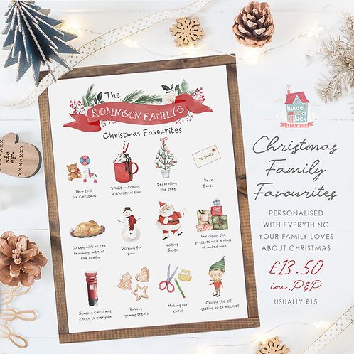 Christmas Family Favourites - Sparkle Market Night Special Offer