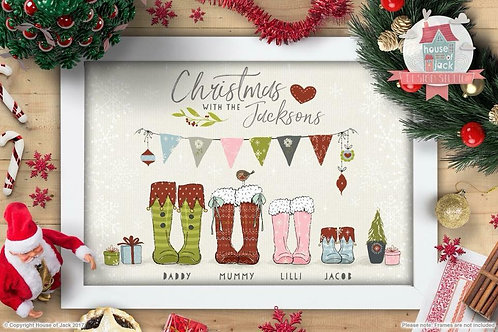 Family Footprints - Christmas!!
