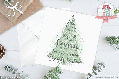 Heaven Greetings Card
