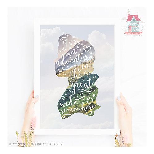 Beauty Adventure Art Print