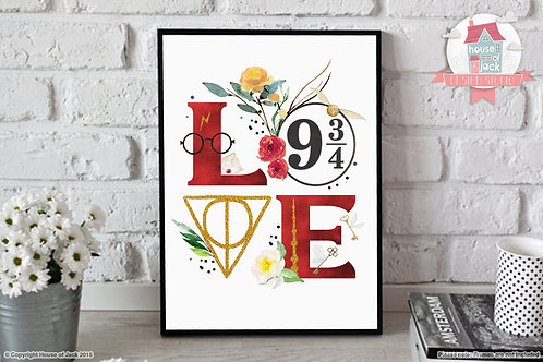 Wizard Love Art Print