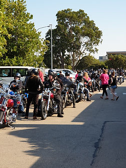Riders Ready to Start Poker Run
