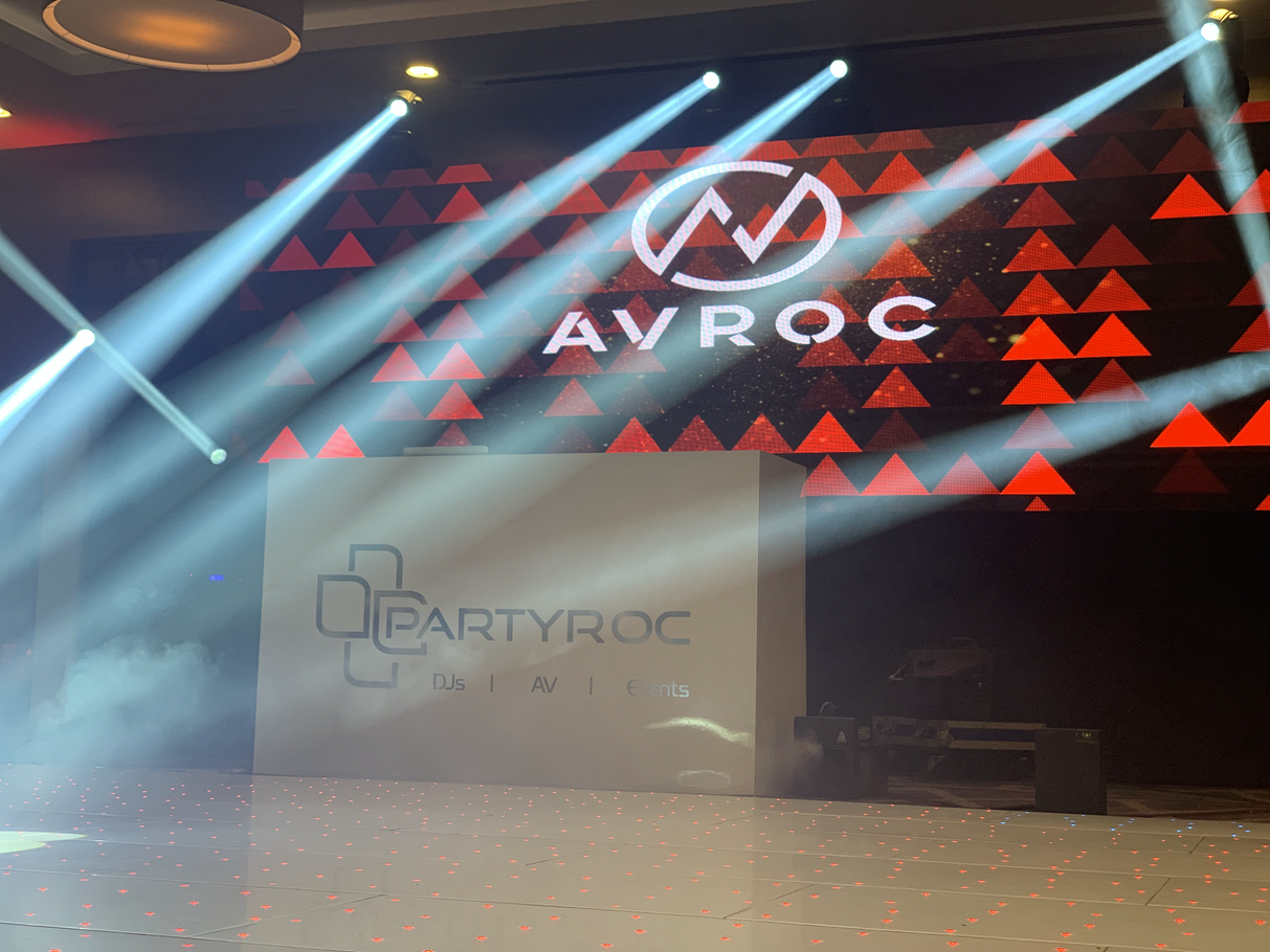 PartyRoc | AV & Event Production