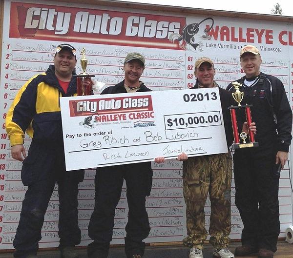 2013 City Auto Glass Walleye Classic Winners!