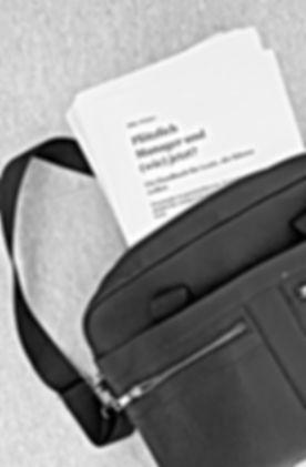 """Bild Manuskript """"Plötzlich Manager oder (wie) Jetzt?"""" von Mike Winter"""